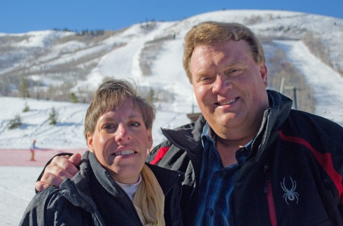 Program Leaders Sandy and Gary Nielsen are two big reasons so many Road Scholars ski Park City.