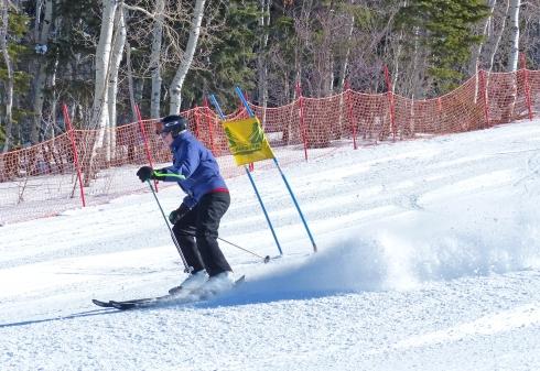 Ski University Participant Karen Bareiss Conquers Park City's Slalom