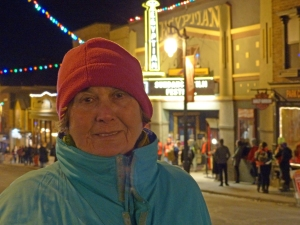 Zlata Kovac at the Egyptian Theater on Main Street