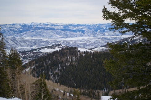 Our view from the top of Park City Mountain Resort.