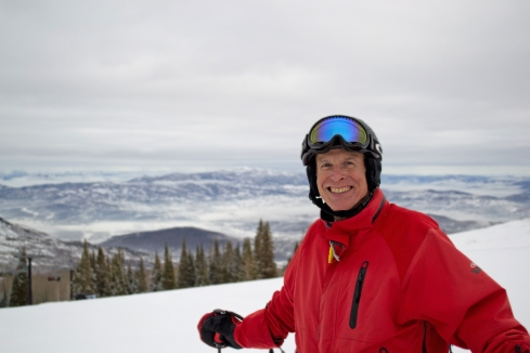 Ed Mattison is happy with this year's semester in Ski University.