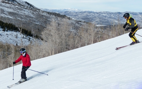 There's plenty of room for learning on the slopes of Park City Mountain Resort.